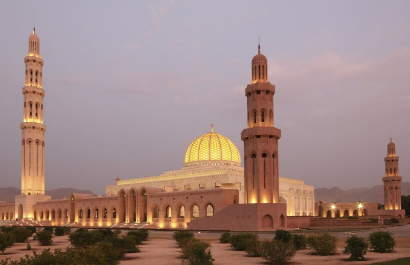 Grand-Mosque-by-Night-Muscat1